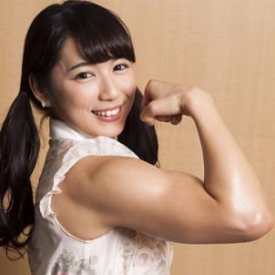 才木玲佳の筋肉すごい!慶應卒のインテリ!プロレスデビューで白星!