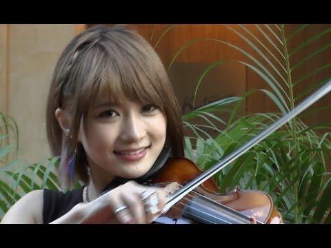 Ayasaはももクロのファン!美人バイオリニストの本名や経歴が気になる!