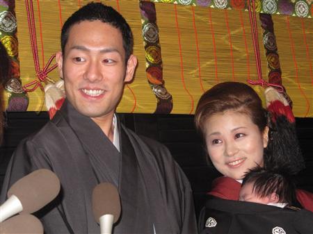 中村勘九郎,浮気,息子 ダウン症 幼稚園 舞台,嫁 前田愛