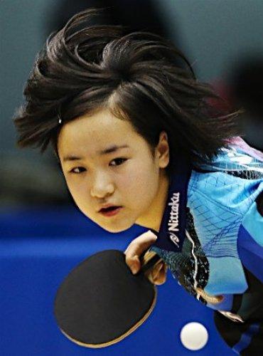 卓球の伊藤美誠の顔がでかい!生意気だと話題に!父は中国人で自己破産をした?